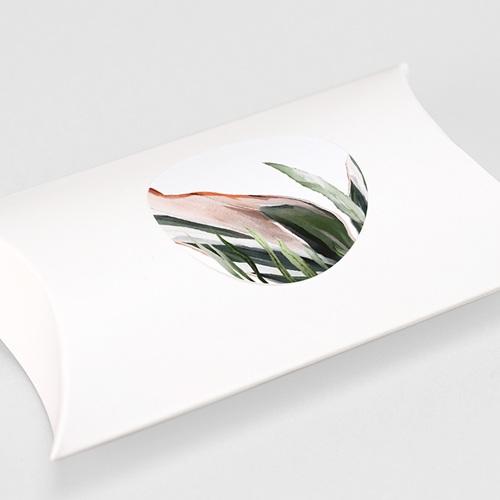 Etiquette Autocollante Mariage Végétal en Miroir, 4,5 cm gratuit
