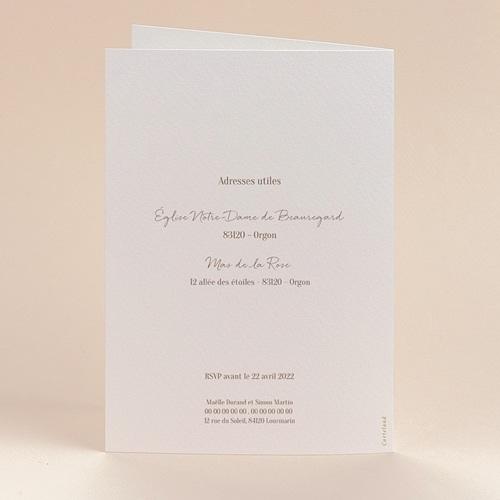 Faire-Part Mariage Soleil Couchant, 10,5 x 15 cm