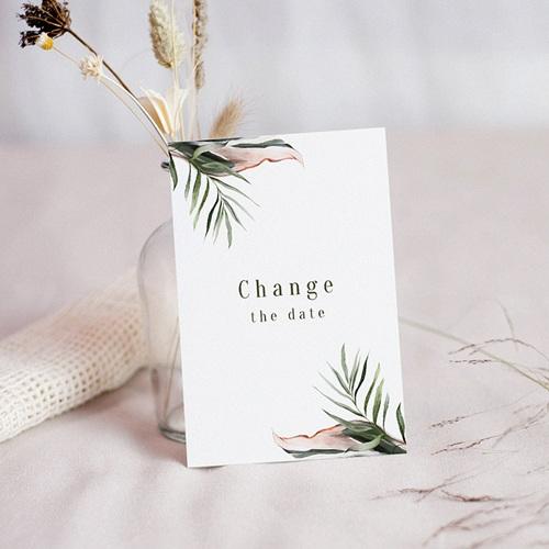 Change The Date Mariage Végétal en Miroir, Date reportée