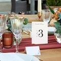 Marque Table Mariage Laurel minimaliste, lot de 3 pas cher