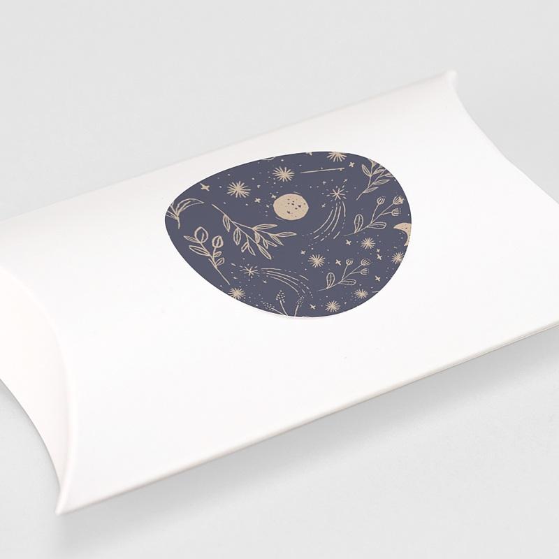 Etiquette Autocollante Naissance Naos, 4,5 cm gratuit