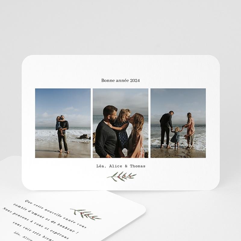 Carte de Voeux Trio de Voeux & Photos