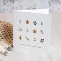 Carte de Voeux Bredele & Rameaux de Noël