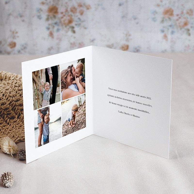 Carte de Voeux Bredele & Rameaux de Noël pas cher