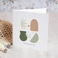 Carte de Voeux Inspiration Matisse, Provence