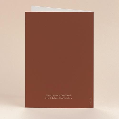 Faire-Part Mariage Silhouette Fleurs des champs, 12 x 17 cm