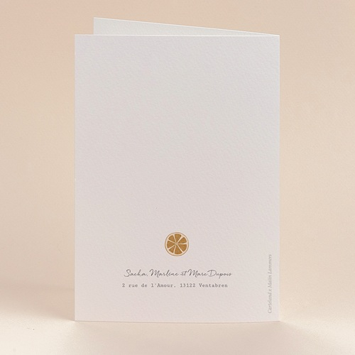 Carte de Voeux Suspension de Noel originale, 12 x 17 cm