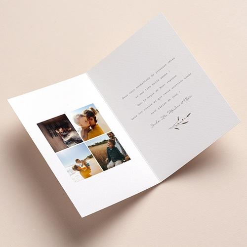 Carte de Voeux Cadeaux Vintage, Double volets 12 x 17 cm pas cher