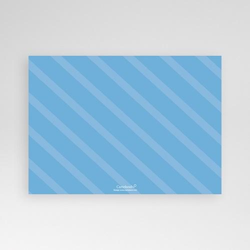 Faire-Part Naissance Garçon - Bonheur Bleu 1203 thumb