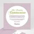 Faire-Part Communion Fille Action de Grâce