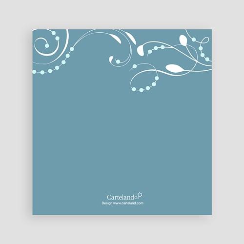 Faire-part Baptême Garçon - Sanctus Bleu 12758 thumb