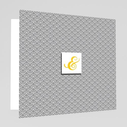 Mariage Estival - gris et jaune - 7 thumb