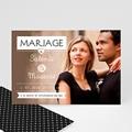 Faire-Part Mariage - Noir et chic - 2326