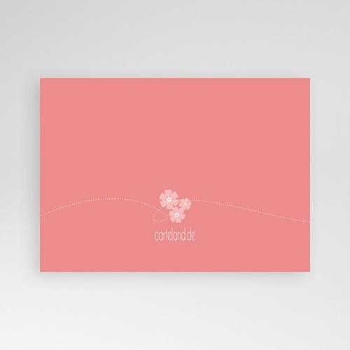 Faire-part Communion Fille - Fleurs en Chapelet 13116 thumb