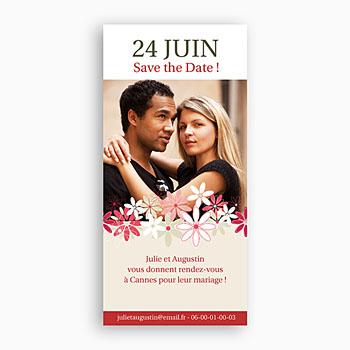 Save-The-Date - Duo de Fleurs des Champs - 1