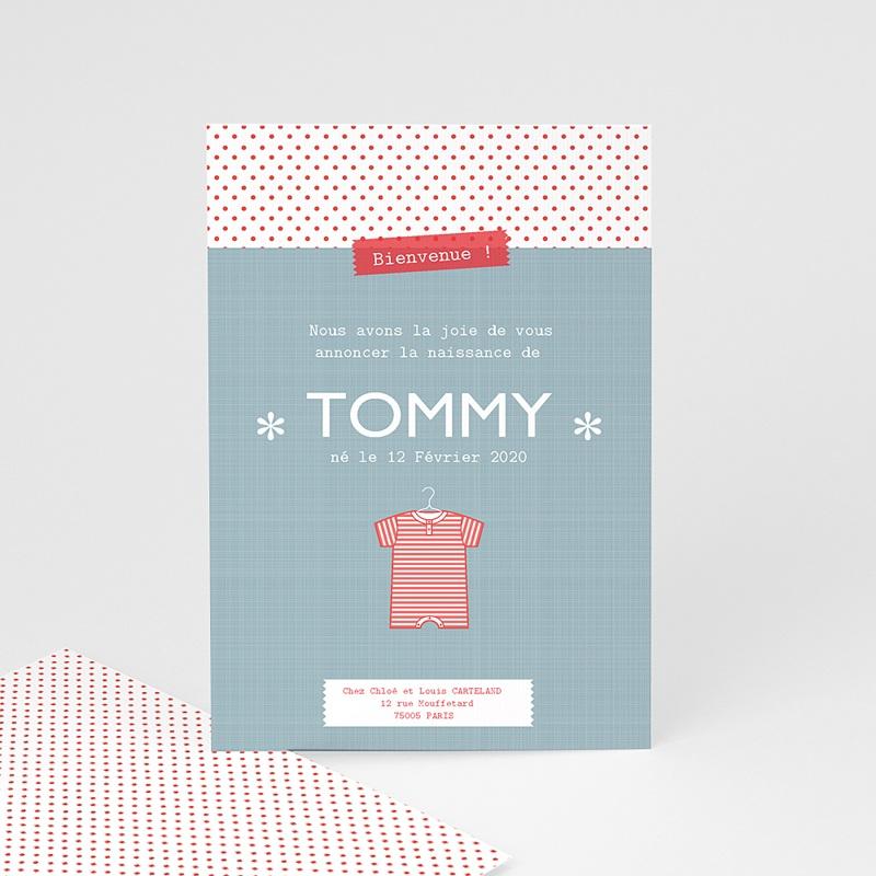Faire-part naissance garçon Tommy