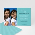 Faire-part Communion Fille - Pêche miraculeuse 14296 thumb