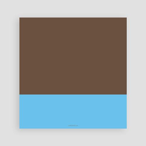 Invitations Anniversaire Garçon - Cinq - Five - fünf - Bleu 1443 thumb