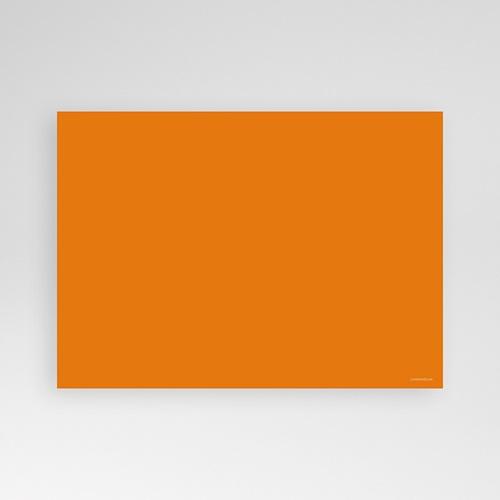 Carte Invitation Anniversaire Adulte Mine Orange pas cher