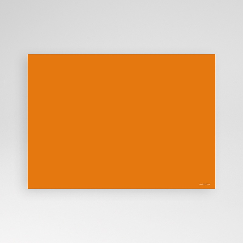 Invitation Anniversaire Adulte - Mine Orange 14551 thumb