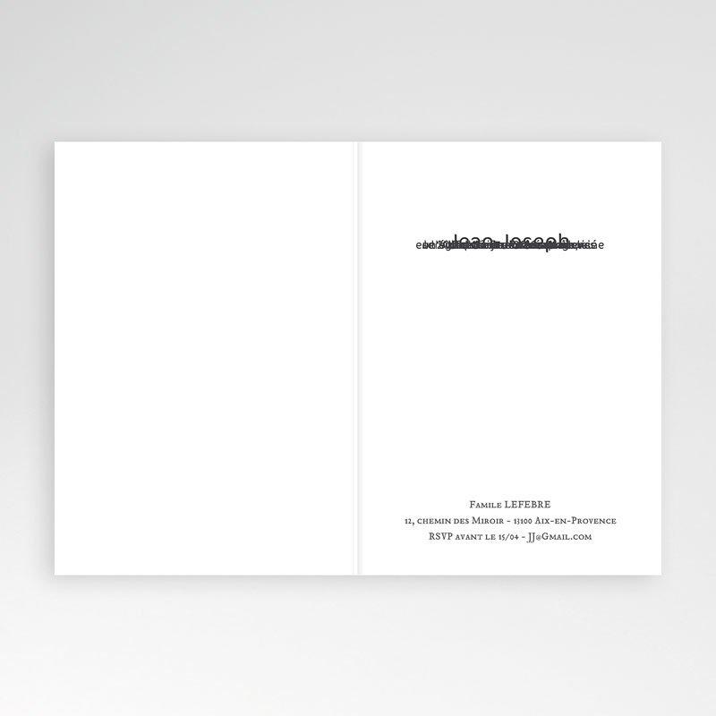 Carte Invitation Confirmation Communion Garçon pas cher