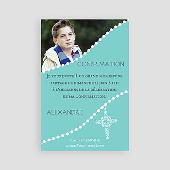 Carte invitation confirmation Consécration