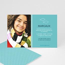 Carte invitation confirmation Pêche miraculeuse