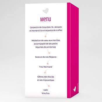 Achat menu mariage personnalisé tag cloud