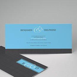 Invitations Bleu Azur