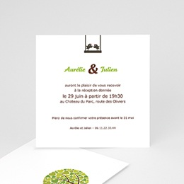 Invitations Chant d'Amour