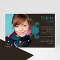 Invitation Confirmation  - Trois Feuilles Bleues 15432 thumb