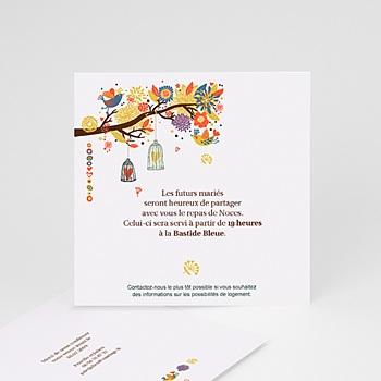 Carton Invitation Personnalisé - L'arbre enchanté - 1