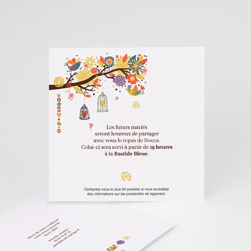 Carton Invitation Personnalisé L'arbre enchanté