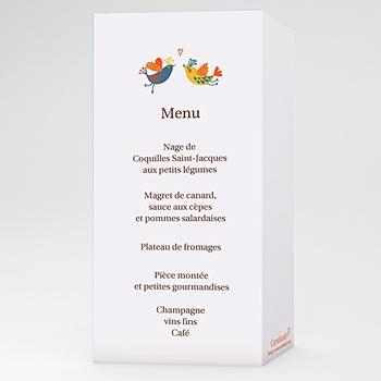 Acheter menu mariage personnalisé l' enchanté