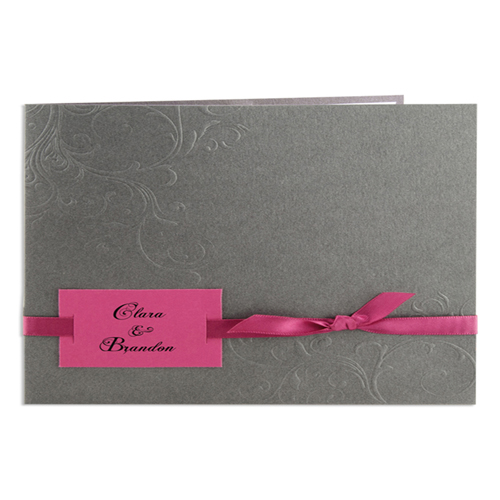 Archive - Gris, carton fuchsia 15602