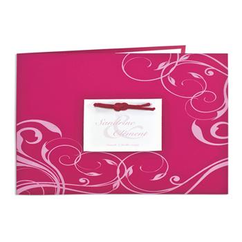 Archive - Fuchsia et arabesques roses - 3