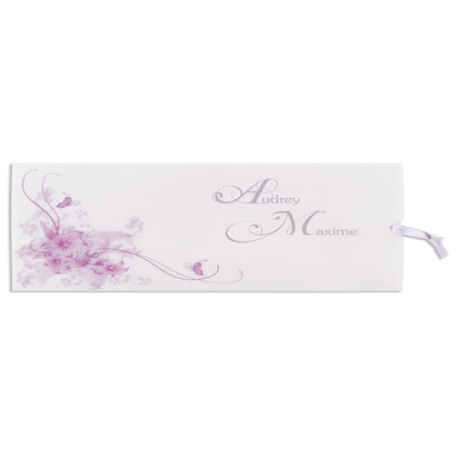 Archive - Fleurs arabesques violettes 15694