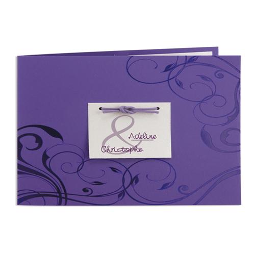 Archive - Violet et gris irisé 15717