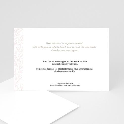 Remerciements Décès Universel - Rosalia - 2 15970