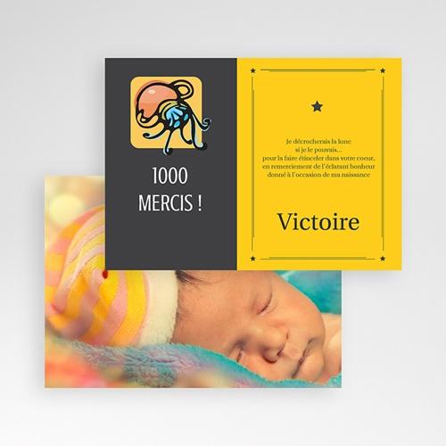 Remerciements Naissance Fille - Verseau 16051 preview
