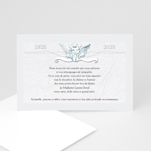 Remerciements Décès Universel - Un ange passe  16209 thumb