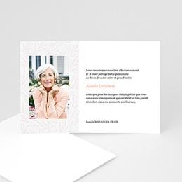 Remerciements Décès Universel - Rosalia - carte remerciement deces - 1