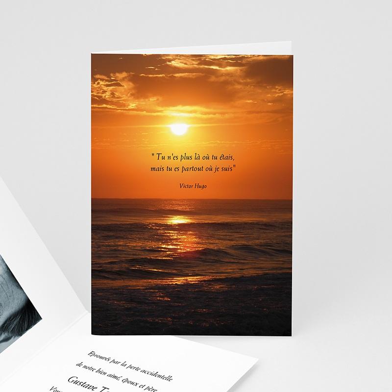 Remerciements Décès Universel - Notre soleil couchant 16460 thumb