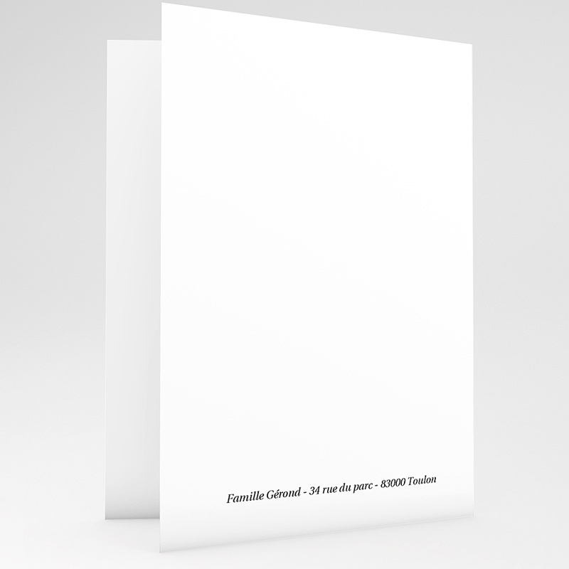Carte remerciement décès universel Soleil couchant - 2 volets gratuit