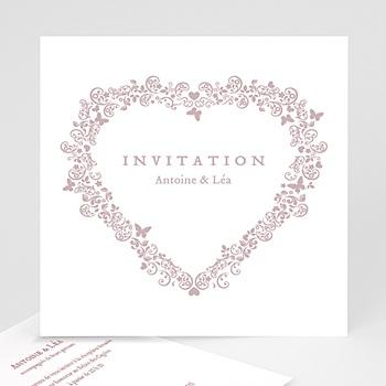 Carton Invitation Personnalisé - Romantico - 1