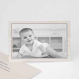 Carte remerciement naissance garçon Nathan