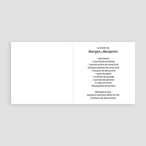 Faire-Part Mariage Personnalisés - Save-the-date - Rose Flashy 16644 preview