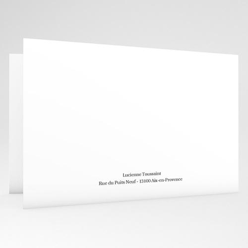Carte Remerciement Décès Universel Nouvelle aurore - 2 Volets gratuit