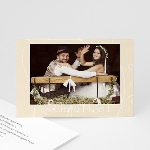 Remerciements Mariage Personnalisés Coeurs Romanesques