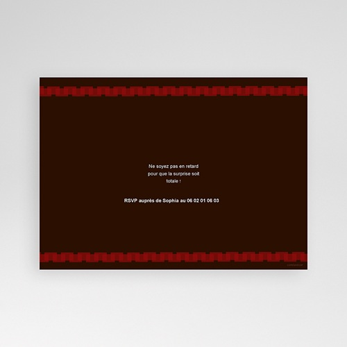 Invitation Anniversaire Adulte - Anniv 1707 thumb